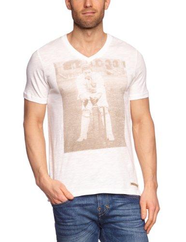 MEXX Herren T-Shirt H5DST005 Weiß (101)