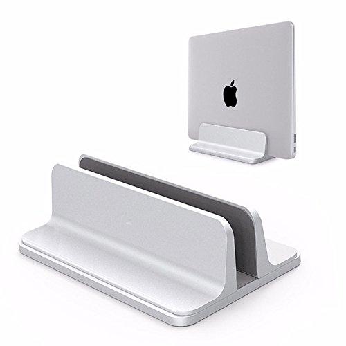Linie Geschlossene Regale (myfei Aluminium Laptop Ständer, Dicke Vertikal verstellbar 1.4cm-7.3cm Desktop Halterung für Macbook Pro/Surface Pro und andere Notebooks Notebook)