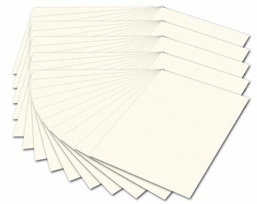 Folia 614/50 01 - Fotokarton 300 g/m², DIN A4, 50 Blatt, perlweiß