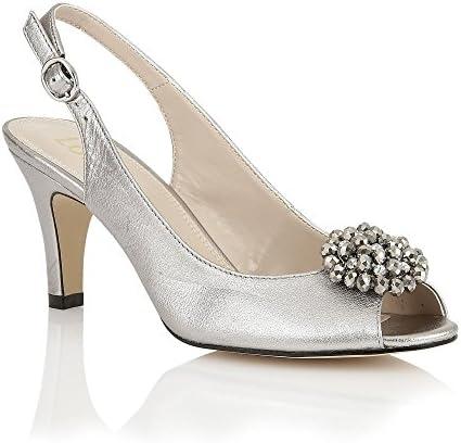 Lotus - Zapatos destalonados de cuero mujer