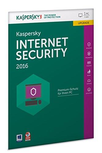 Kaspersky Internet Security 2016 Upgrade - 1 PC / 1 Jahr (Frustfreie Verpackung) Kaspersky Windows 8