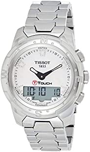 Tissot Mens Quartz Watch, Analog-Digital Display and Stainless Steel Strap T047.220.44.2982.66