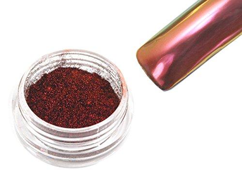Flip Flop Chrom Pigment Mirror Spiegeleffekt 0,5g Red-Gold FF-05
