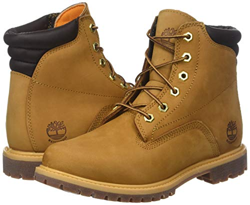 Timberland Women's Waterville 6 Inch Basic Waterproof Lace-up Boots 5