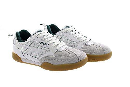 Hi-Tec Herren Squash-Schuhe / Turnschuhe, abriebfeste Sohle (42,5 EUR/8,5 UK) (Weiß)