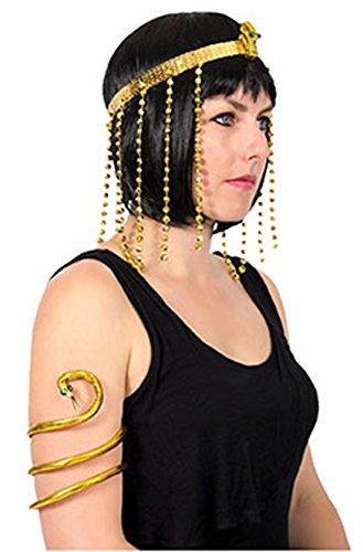 Schimmer Und Glanz Für Ein Kostüm - Karnevalsbud - Kleopatra Antike Kostüm Set-