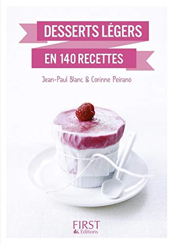 Petit livre de - Desserts légers en 140 recettes