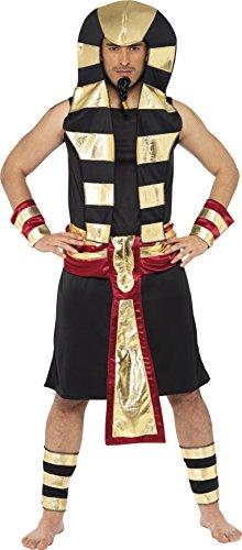 Pharao Kostüm Rock Kopfschmuck Gürtel Arm- und Beinmanschetten, Medium