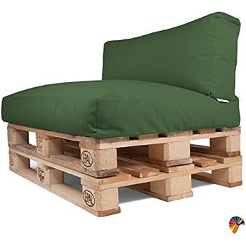 Arketicom Set Coussins pour Palettes Canapé de Jardin Dehoussable ...