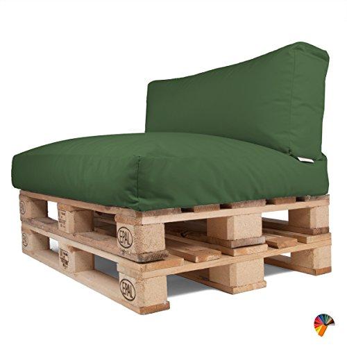 Arketicom soft set cuscini pallet bancali morbidi da esterno per arredo mobili divani da - Mobili da giardino con pallet ...