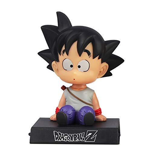 CYRAN Dragon Ball Z One Piece Figura Goku Soporte de teléfono Decoración del Coche...