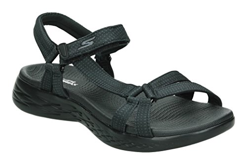 Skechers Women's on-The-Go 600-Brilliancy Ankle Strap Sandals