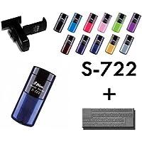 Shiny S-722 38 x 14mm Blu, Rosa, Rosso, Viola, Giallo timbro