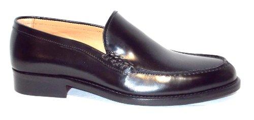 Brawn's moccasin Peau chaussure Homme fondo Peau 6 Cordovan Noir Noir