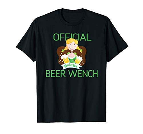 ch Fräulein Oktoberfest Bartender Bier T-Shirt ()