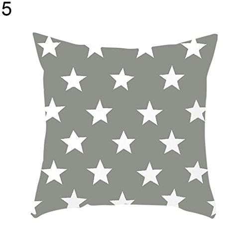 Amesii - Funda de cojín para sofá o Cama, diseño de Estrellas