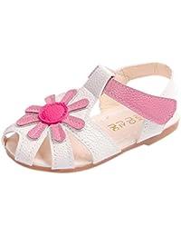 Malloom 0-6 Años de Edad Niñas Sandalias de Girasol Princesa Sandalias Zapatos Playa