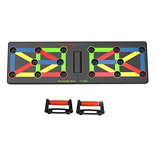 belukies 12 In 1 Push Up Rack Board System Fitness Workout Training Gym Übungsständer Für Home Fitness Training -