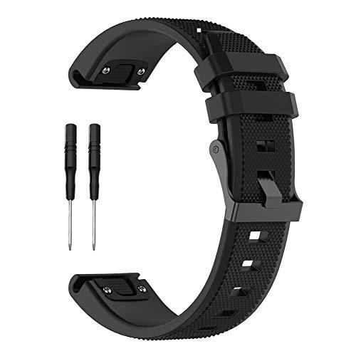Maliyaw Soft Silicone Sport-Armband für Garmin Forerunner 945 935 Smart Watch mit Werkzeugen - Quick Release Watch Band Strap Garmin Forerunner Quick Release