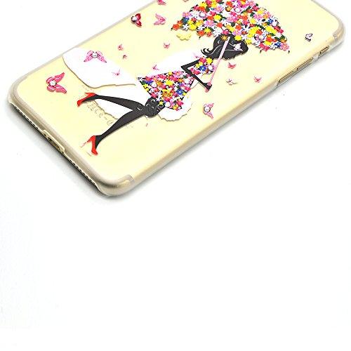 Détachable Coque pour iPhone 8 Plus / 7 Plus [360 Degrees Protection] Housse, Vandot Ultra Slim Thin Matte Housse Couverture Étui pour iPhone 8 Plus / iPhone 7 Plus 5.5 Pouces Case Anti-rayures Antich YK-Jupe fille