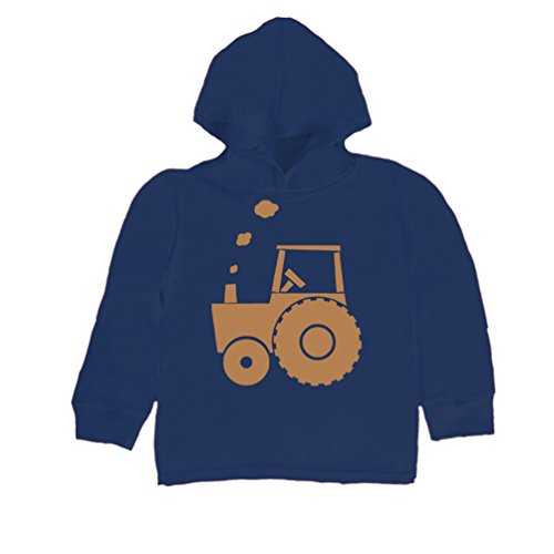 Inda-Bayi Baby-Toddler-Kids Cotton Hoodie T-Shirt - tractor