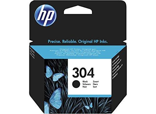 HP 304 Original Black Ink Cartridge Capacity Standard