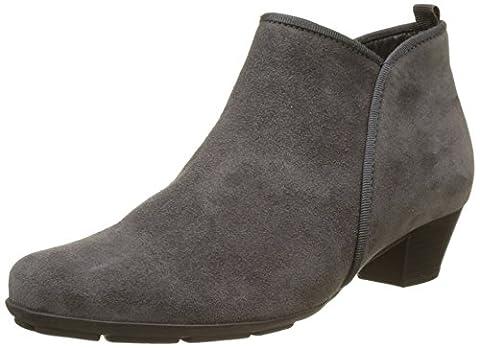 Gabor Shoes Damen Gabor Basic Stiefel, Grau (19 Pepper), 43 EU