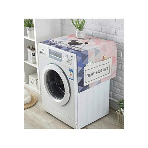 HUILIN Flamingo wasserdicht kühlschrank staubschutz mit Aufbewahrungstasche Haushalt küche Waschmaschine Abdeckung Dekoration liefert, 3 -