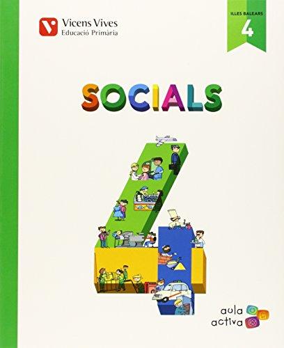 Socials 4 Balears (aula Activa) - 9788468228945