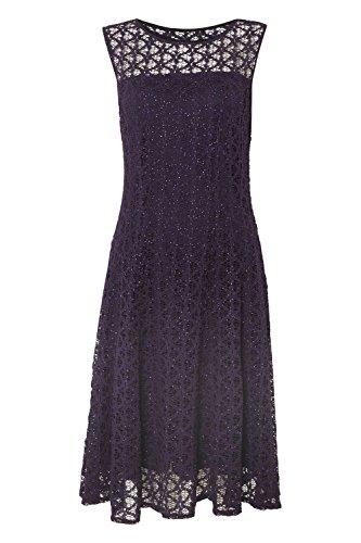 Roman Originals - Robe Patineuse Pailletée - Violet Violet