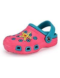 b4fc80cfc Zuecos Unisex Niños Verano Sandalias de Playa Respirable Antideslizante  Piscina Jardín Zapatos Tallas