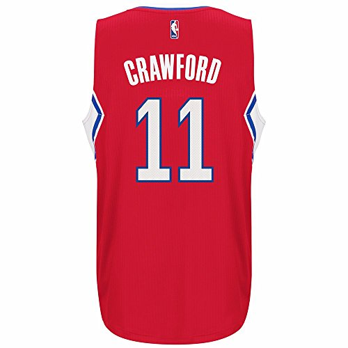 Jamal Crawford Los Angeles Clippers NBA Adidas rot Offizielles ClimaCool Away Road Swingman Jersey für herren, Herren, rot