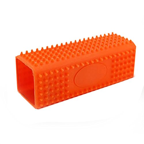 Haar Entfernung Pinsel Tierhaarentferner Sofa Kissen Kleidung Haustier Fell Haar Entferner Reiniger Fusselbürste Orange