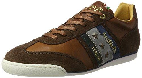 Pantofola D'Oro Herren Imola Uomo Low Sneaker, Braun (Tortoise Outside), 42 EU