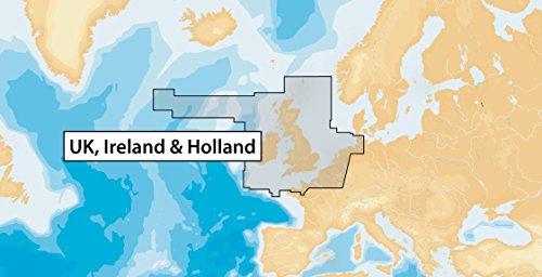 NAVIONICS sd-carta Nautica, Zone 28XG Königreich unito-irlanda - Bathymetrische Karte