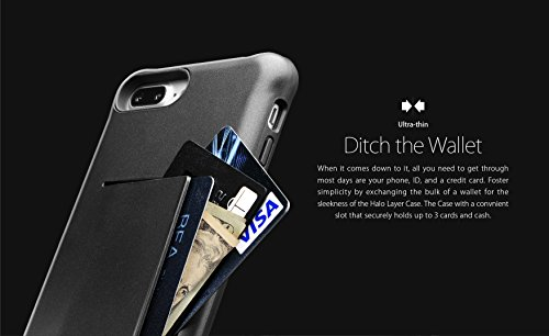 Apple Iphone 7 Melkco Jacka Type Premium Leather Case with Premium Leather Hand Crafted Good Protection,Premium Feel-Red LC Gold