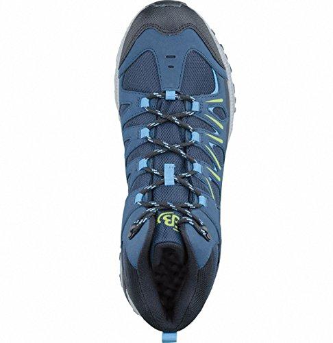 Bruetting Expedition Mid, Scarpe da Arrampicata Alta Unisex – Adulto Blu (Marine/blau/lemon)