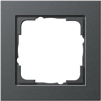 Preisvergleich Produktbild Gira 021123 Rahmen 1-f.anthrazit E2