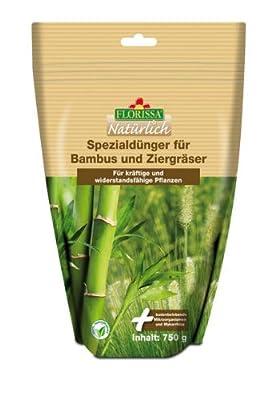 Florissa Spezialdünger für Bambus und Ziergräser 750 g *Biodünger mit Langzeitwirkung* von Florissa - Du und dein Garten