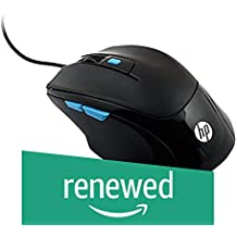 (Renewed) HP M150 Wired Gaming Mouse (Black)
