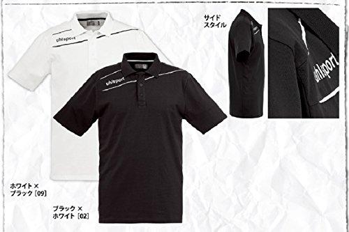 uhlsport Bekleidung Stream 3.0 Polo Shirt Schwarz/Weiß