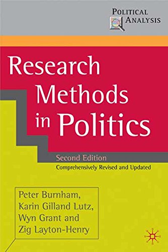 Research Methods in Politics: 0 (Political Analysis)