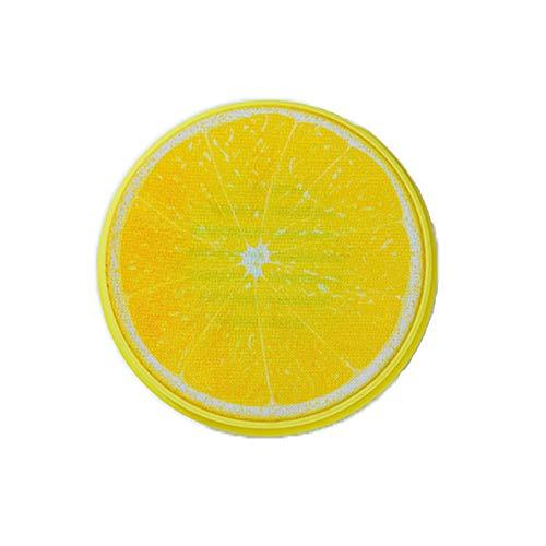 Poltrona musicale bianco//lemon in ecopelle con diffusori surround e Subwoofer ca AVANTI TRENDSTORE 55x98x84 cm
