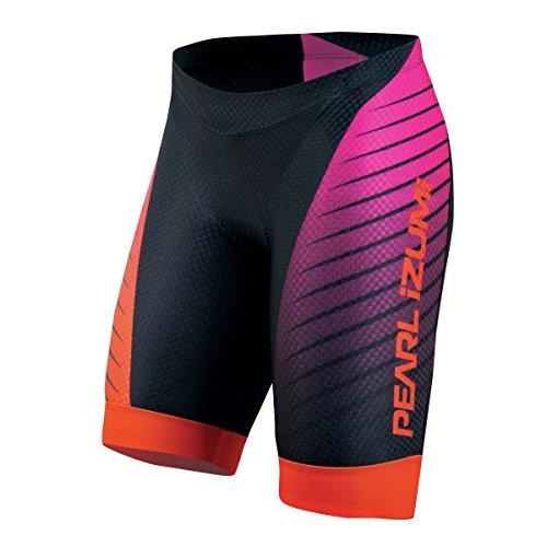 Pearl Izumi Pro In-R-Cool LTD Tri Damen Triathlon Hose kurz schwarz/pink 2015: Größe: M (38/40)