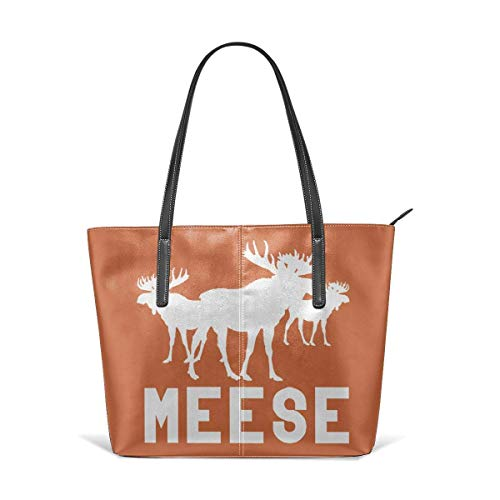 XGBags Custom Frauen Umhängetaschen Flexible Moose Leather Handbag Tote Bag For Women (Frauen Handtaschen Jessica Simpson)