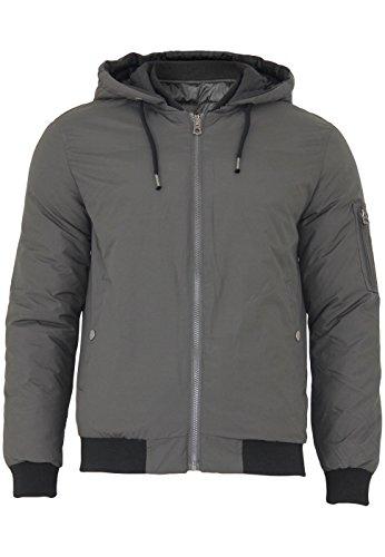 Jack & Jones veste d'hiver / transition bilatérale jacket Jorbeck Reversible Raven