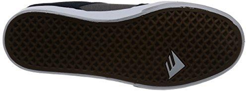Emerica The Reynolds Low Vulc, Chaussures de skateboard homme Navy/Grey