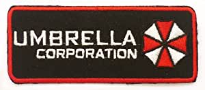 Resident Evil Umbrella Corporation Iron on Sew on Embroidered Patch Badge Applique Motif by ChewyBuy