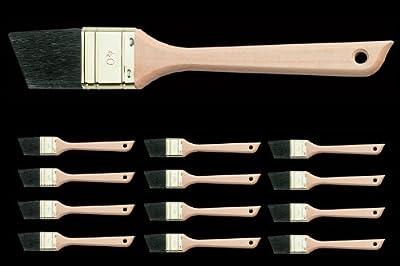12 x TOP Handwerker Fensterpinsel Chinaborste schwarz 70% Tops 40 mm Beschneidepinsel Lack und Lasur Maler Pinsel von 1A Malerwerkzeuge auf TapetenShop