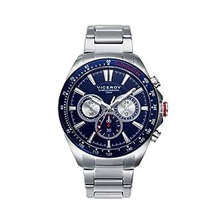 Viceroy 46649-37 – Cronografo de acero, brazalete